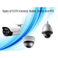 Types of CCTV Camera: Bullet, Dome, PTZ and their uses