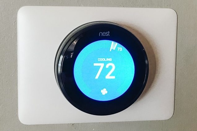 install thermostat to reduce electricity consumption