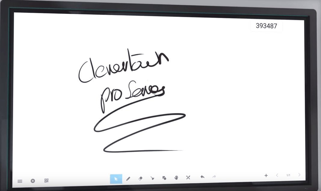 clevertouch interactive board